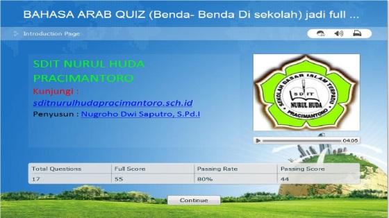 Download QUIZ BAHASA ARAB Flash ~ BUAH BUAHAN, HEWAN-HEWAN, DAN TEMPAT-TEMPAT