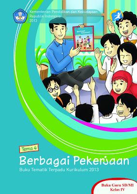 Download Buku Pelajaran Kurikulum 2013 Untuk SD