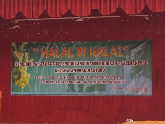 HALAL-BIHALAL ~Pendidik dan tenaga Kependidikan Dinas Pracimantoro